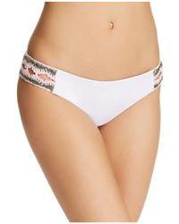 Becca - Medina Split Tab American Bikini Bottom - Lyst