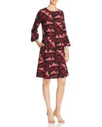 Lafayette 148 New York - Billie Fluted Sleeve Dress - Lyst