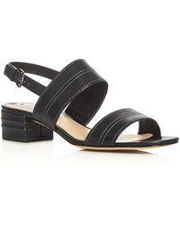 Via Spiga - Gem Double Strap Slingback Sandals - Lyst