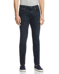 7 For All Mankind - Paxtyn Skinny Fit Jeans In Contrast - Lyst