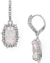Alexis Bittar - Crystal Leverback Drop Earrings - Lyst