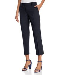 Theory - Treeca Cropped Pants - Lyst