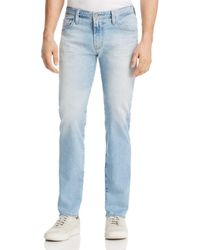 AG Jeans - Matchbox Slim Fit Jeans In 21 Years Solstice - Lyst