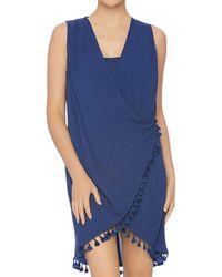 Athena - Bazaar Beauty Wrap Swim Cover - Up - Lyst