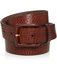Frye - Chase Leather Belt - Lyst