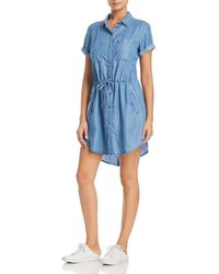 Billy T - Chambray Shirt Dress - Lyst