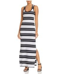 Marc New York - Performance Striped Racerback Maxi Dress - Lyst