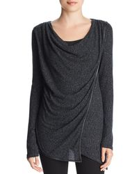 Marc New York - Performance Hachi Thermal Overlay Top - Lyst