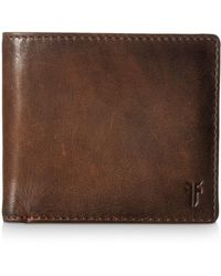 Frye - Oliver Leather Bifold Wallet - Lyst