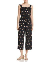 Kate Spade - Pineapple-print Jumpsuit - Lyst