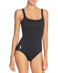 312404dd33 MILLY Onepiece Martinique Mesh Swimsuit in White - Lyst