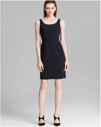 Armani - Dress - Scoop Neck Sleeveless - Lyst