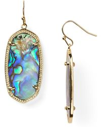 Kendra Scott - Signature Elle Drop Earrings - Lyst