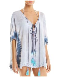 Surf Gypsy - Tassel Tunic Swim Cover-up - Lyst