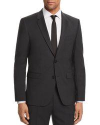 HUGO - Aldons Slim Fit Basic Suit Jacket - Lyst