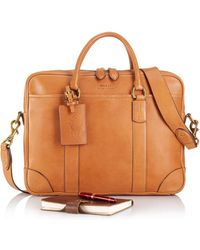 e9bb37860a8 Ralph Lauren - Polo Core Leather Commuter Bag - Lyst