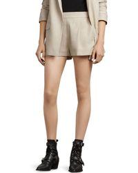 AllSaints - Aleida Shorts - Lyst