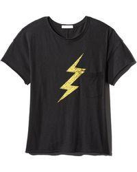 Rag & Bone - Lightning Vintage Graphic Crewneck Tee - Lyst