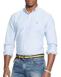 Polo Ralph Lauren - Oxford Button-down Shirt - Classic Fit - Lyst