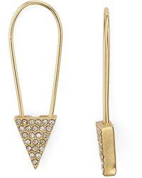 Rebecca Minkoff - Alexandria Pin Earrings - Lyst