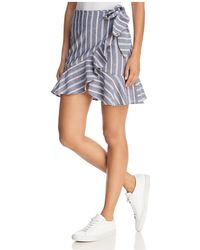 The Fifth Label - Voyage Striped Wrap Skirt - Lyst