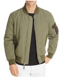 7 For All Mankind - Military Bomber Jacket - Lyst