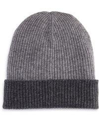 Bloomingdale's - Reversible Knit Hat - Lyst