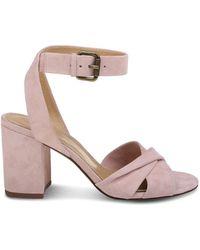 Splendid - Women's Fairy Suede Block Heel Sandals - Lyst