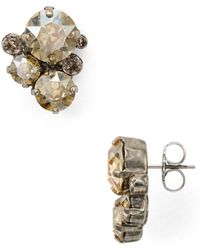 Sorrelli - Crystal Assorted Rounds Post Earring - Lyst