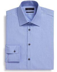 Bloomingdale's - Dobby Regular Fit Dress Shirt - Lyst