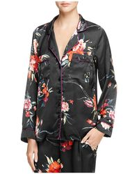 Band Of Gypsies - Botanical Floral Pyjama Top - Lyst