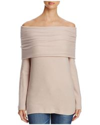 Three Dots - Off-the-shoulder Sweater - Lyst