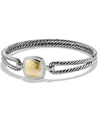 David Yurman - 'albion' Bracelet With Diamonds And Gold - Lyst