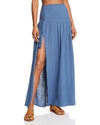 Surf Gypsy - Gauzy Maxi Skirt Swim Cover-up - Lyst