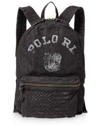Polo Ralph Lauren - Bulldog Denim Backpack - Lyst