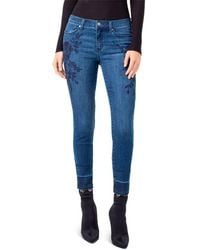 Liverpool Jeans Company - Sadie Ankle Released Hem Embroidered - Lyst