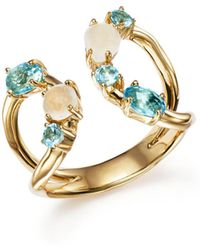 Ippolita - 18k Yellow Gold Rock Candy Mixed Stone Ring In Raindrop - Lyst