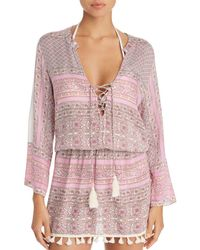 Cool Change - Chloe Tunic Swim Cover-up - Lyst