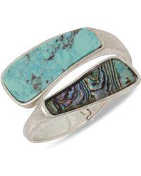 Robert Lee Morris - Turquoise Bypass Bracelet - Lyst
