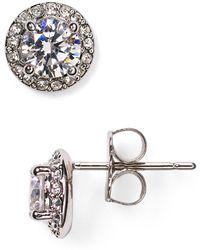 Nadri - Cubic Zirconia Stud Earrings - Lyst