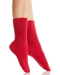 C By Bloomingdale's - Cashmere Cozy Socks - Lyst