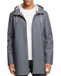 Stutterheim - Stockholm Hooded Rain Coat - Lyst