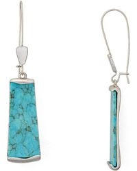 Robert Lee Morris - Stone Drop Earrings - Lyst