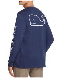 Vineyard Vines - Whale Graphic Long Sleeve Pocket Tee - Lyst
