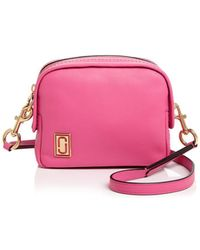 Marc Jacobs - The Mini Squeeze Leather Crossbody Bag - Lyst