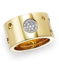 Roberto Coin - 18k Yellow Gold Pois Moi Luna Ring - Lyst
