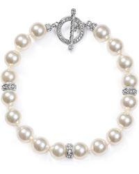 Nadri | Classic Toggle Bracelet | Lyst