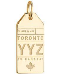 Jet Set Candy - Canada Yyz Luggage Tag Charm - Lyst