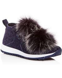 Jimmy Choo - Norway Pom Pom Trainers - Lyst