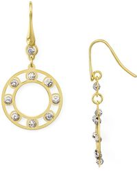 Officina Bernardi - Circle Drop Earrings - Lyst